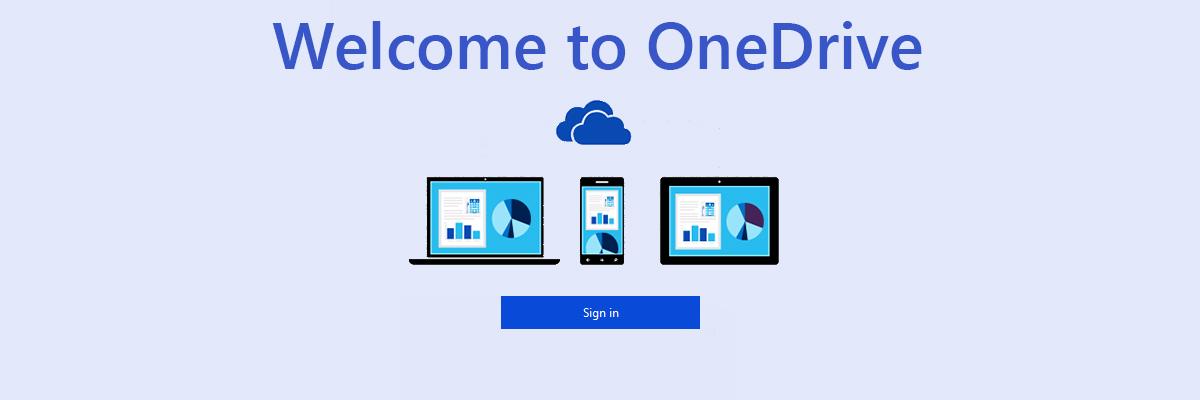 OneDrive synchronizace